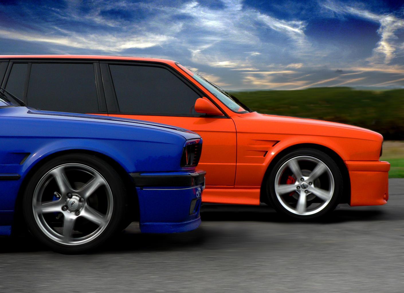 autá, preteky