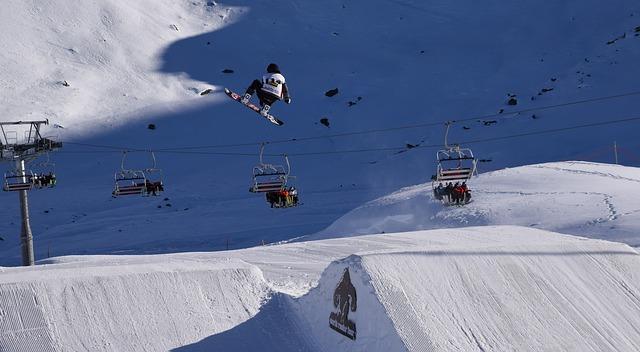 Závodní snowboardista