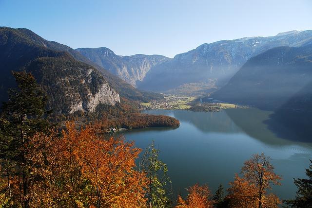 rakouské jezero