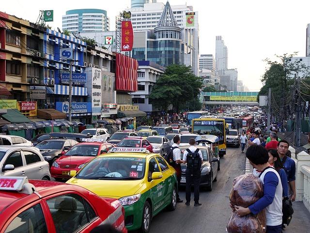 thajsko bangkok