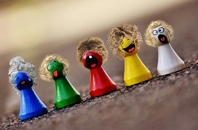 barevné figurky